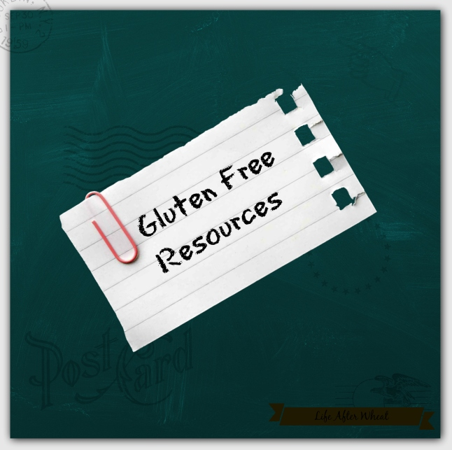 Gluten Free Resources